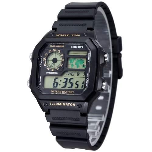 Casio AE1200WH-1BV Herren Uhr