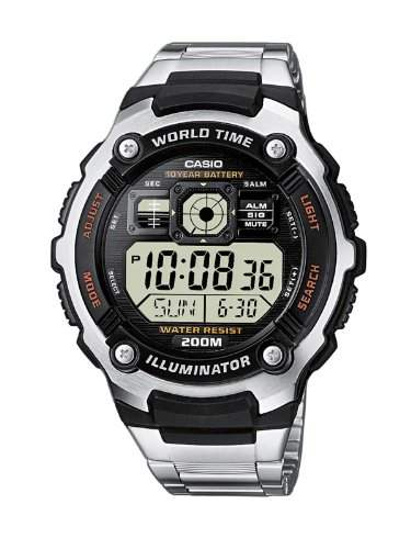 Casio Collection Herren-Armbanduhr Digital Quarz AE-2000WD-1AVEF