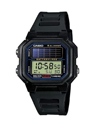 Casio Collection Herren-Armbanduhr Solar-Kollektion Digital Quarz AL-190W-1AVEF