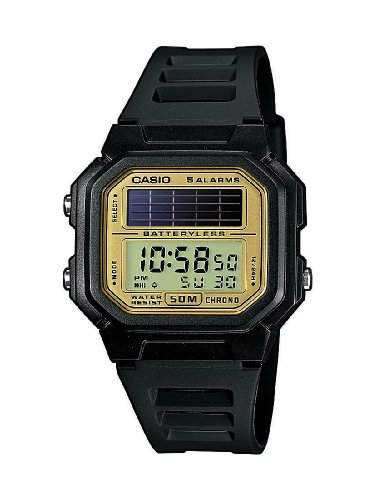 Casio Collection Herren-Armbanduhr Solar-Kollektion Digital Quarz AL-190W-9AVEF