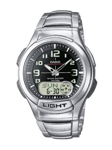 Casio Collection Herren-Armbanduhr Analog  Digital Quarz AQ-180WD-1BVES