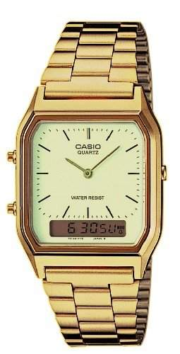 Casio Herren Armbanduhr G-Shock Analog  Digital Quarz Schwarz Resin Aw-590-1Aer