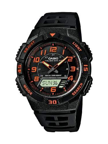 Casio Collection Herren-Armbanduhr Solar AQ-S800W-1B2VEF