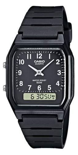 Casio Collection Herren-Armbanduhr Analog  Digital Quarz AW-48H-1BVEF