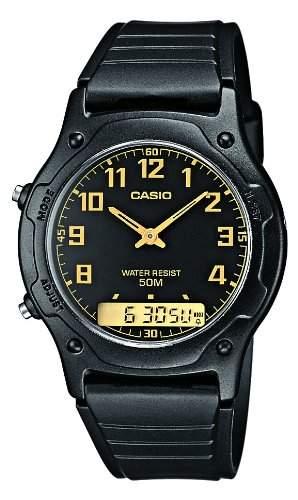 Casio Herren-Armbanduhr Analog - Digital Quarz Resin AW-49H-1BVEF