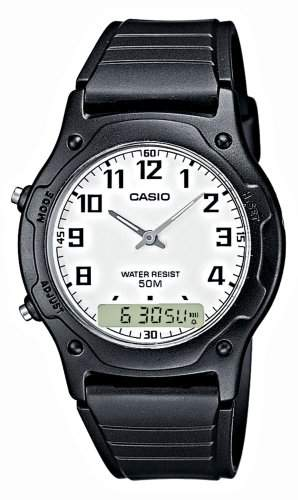 Casio Collection Herren-Armbanduhr Analog  Digital Quarz AW-49H-7BVEF