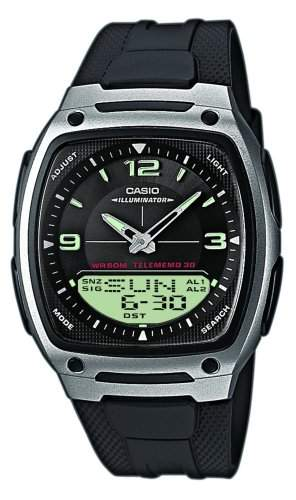Casio Unisex-Armbanduhr Casio Collection AW-81-1A1VEF
