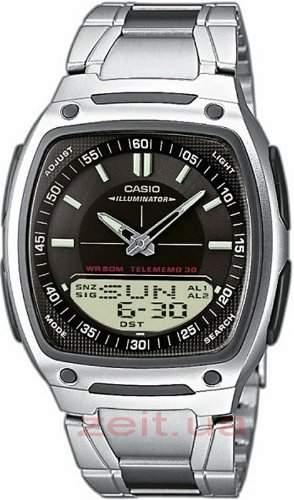Casio Collection Herren-Armbanduhr Analog  Digital Quarz AW-81D-1AVES