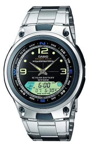 Casio Collection Herren-Armbanduhr Analog  Digital Quarz AW-82D-1AVES