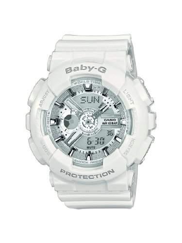 Casio Damen-Armbanduhr Analog - Digital Quarz Resin BA-110-7A3ER