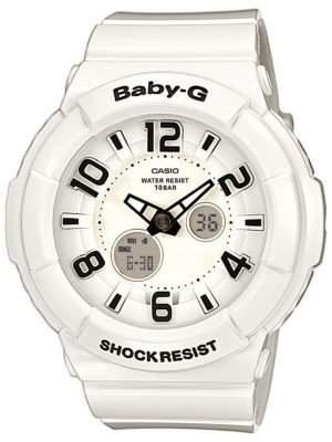 Casio Damen-Armbanduhr XL Baby-G Analog - Digital Resin BGA-132-7BER