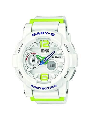 Casio Damen-Armbanduhr XL Baby-G Analog - Digital Quarz Resin BGA-180-7B2ER