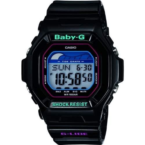 Casio Damen-Armbanduhr Baby-G Digital Quarz Resin BLX-5600-1ER