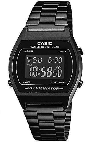 Armbanduhr schwarz Casio Collection Retro Design Digitale B640WB-1BEF 24899