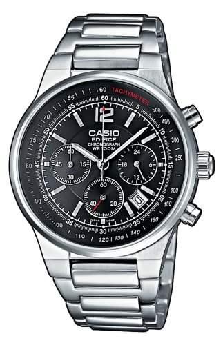 Casio Edifice Herren-Armbanduhr Chronograph Quarz EF-500D-1AVEF