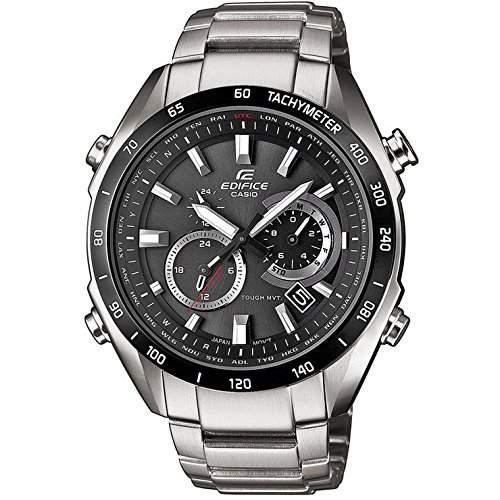 Casio Edifice Solar Herren Armbanduhr Datum Edelstahl 100m EQW-T620DB-1AER