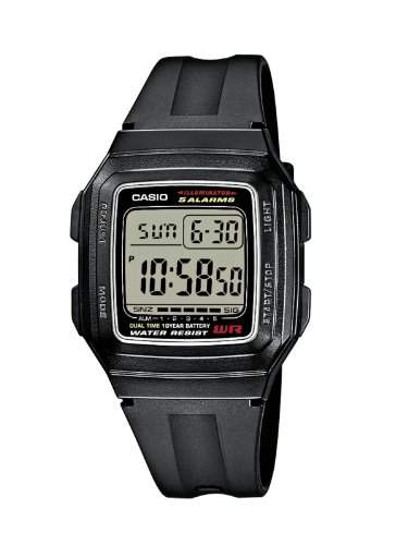 Casio Collection Herren-Armbanduhr Digital Quarz F-201WA-1AEF