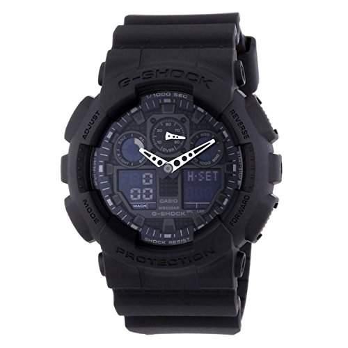 G-Shock Big Kombination Military Watch - Matte Black