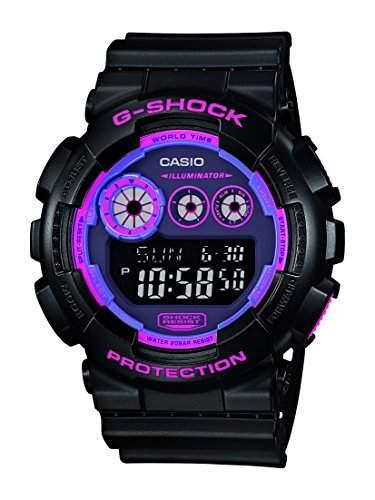 Casio Herren-Armbanduhr G-Shock Digital Quarz Resin GD-120N-1B4ER