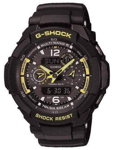 Casio G-Shock Tough Solar SKY COCKPIT radio clock MULTIBAND 6 GW-3500B-1AJF Mens watch Japan import