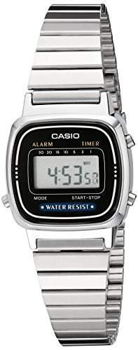 Casio LA670WA-1 Damen Uhr