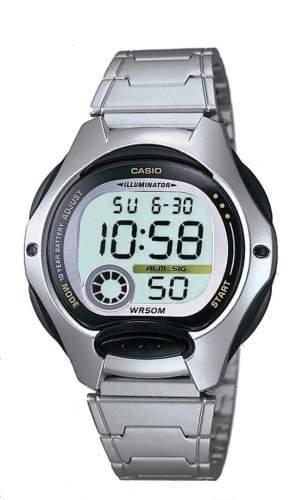 Casio Collection Digital Kinder und Damen Armbanduhr LW-200D-1AVEF
