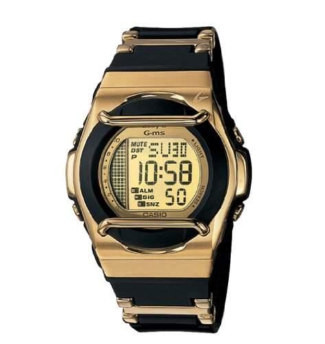 Casio Damen-Armbanduhr Digital Quarz Kautschuk MSG-164CG-1V