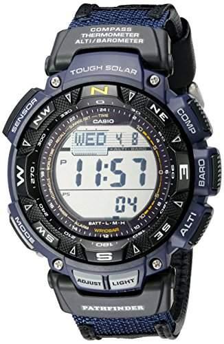 Casio PAG240B-2 Mens Pathfinder Digital Compass Triple Sensor Watch