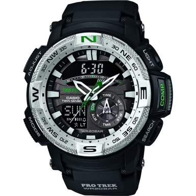 Casio Herren-Armbanduhr Protrek Digital Quarz Resin PRG-280-1ER