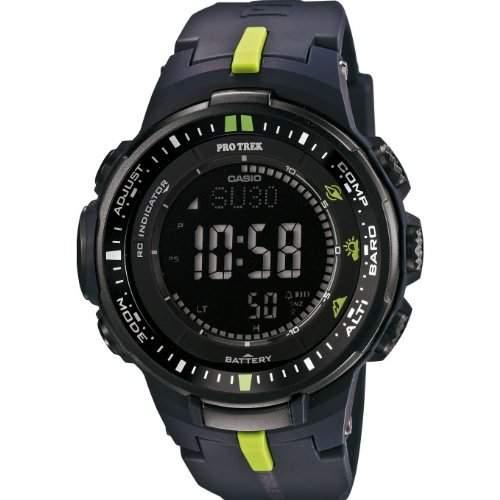 Uhr Casio Pro Trek Prw-3000-2er Herren Schwarz