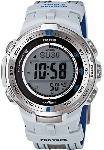 CASIO watches PROTREK Triple Sensor Ver3 equipped with the world six stations corresponding Solar radio PRW-3000G-7JR