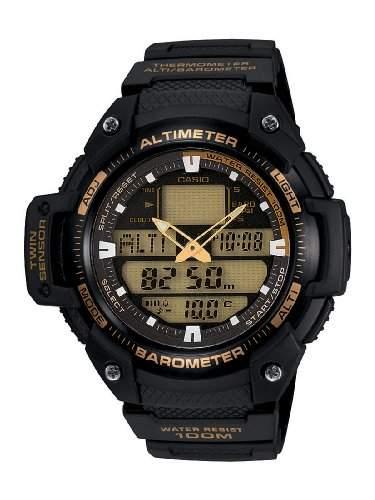 Casio Collection Unisex-Armbanduhr Multi Task Gear Anaolg Digital Quarz SGW-400H-1B2VER