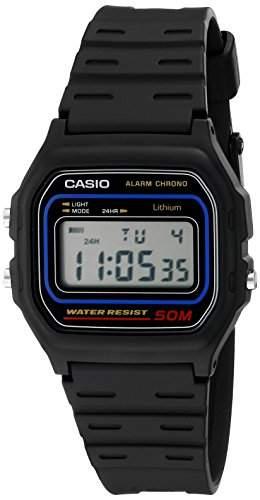 Casio Herren-Armbanduhr Digital Quarz Kautschuk W-59-1V