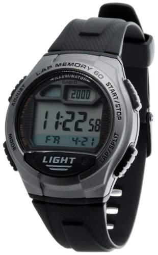 CASIO Herren-Armbanduhr Digital Quarz Resin W-734-1A