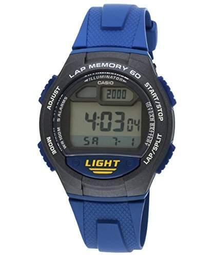 CASIO Herren-Armbanduhr Digital Quarz Resin W-734-2A