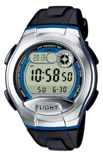 Casio Collection Herren-Armbanduhr Digital Quarz W-752-2BVES