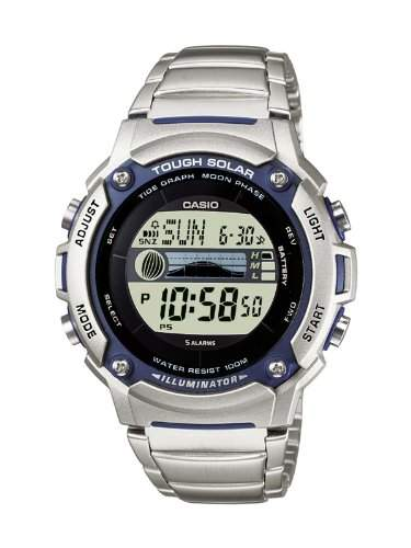 Casio Collection Unisex-Armbanduhr Multi Task Gear Digital Quarz W-S210HD-1AVEF