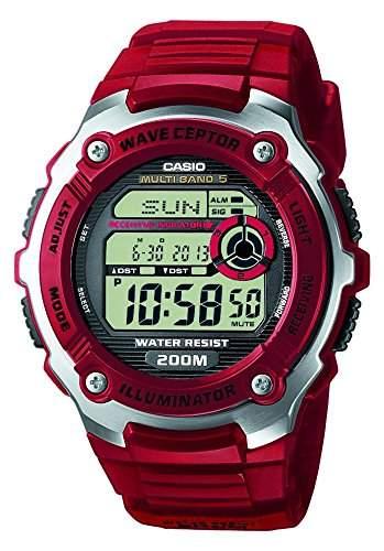 Casio Unisex-Armbanduhr Digital Quarz Plastik WV-200E-4AVEF
