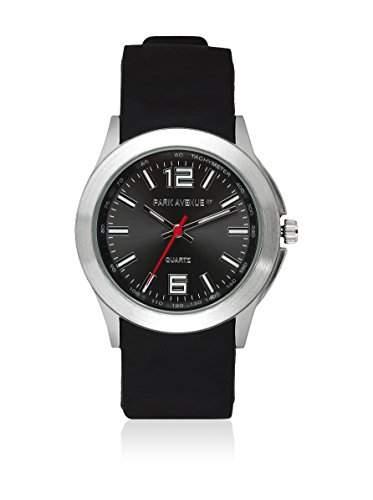 PARK AVENUE NY - Armbanduhr, Damen - schwarzsilber