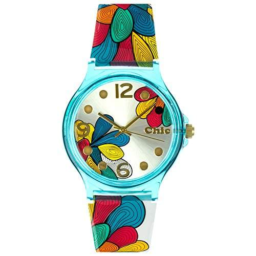 Tee-Wee Chic-Watches Damenuhr Blumen Armbanduhr Chic Lady-Kollektion UC003