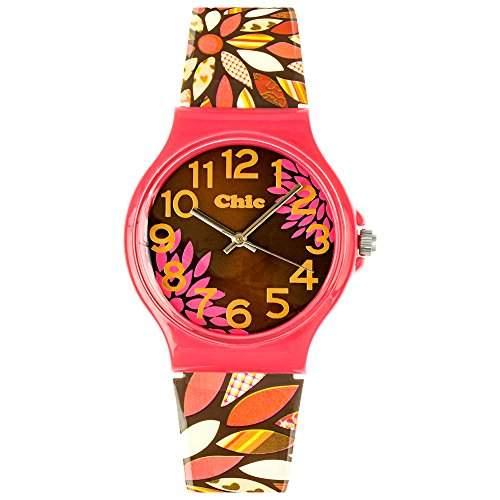 Tee-Wee Chic-Watches Damenuhr Retro Flowers Armbanduhr Chic Lady-Uhren UC013