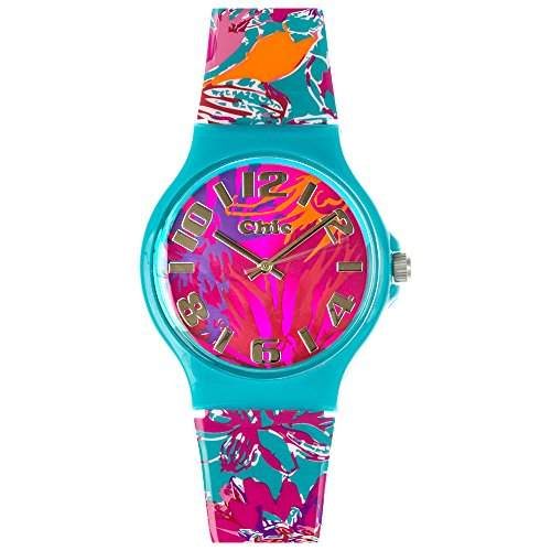 Tee-Wee Chic-Watches Damenuhr Wild Flowers Armbanduhr Chic Lady-Uhren UC016