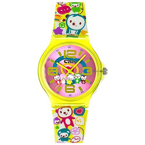 Tee-Wee Chic-Watches Damenuhr Crazy Teddy Armbanduhr Chic Lady-Uhren UC027