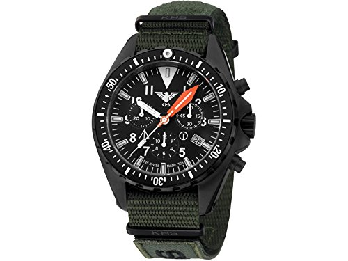 KHS Tactical Watches MissionTimer 3 Field Chronograph KHS MTAFC NXTO1 Militaer Armbanduhr