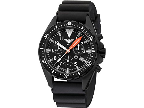 KHS Tactical Watches MissionTimer 3 Ocean Chronograph KHS MTAOC DB Militaer Armbanduhr