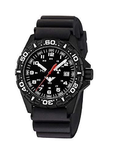 SET KHS Reaper KHS RE DB Diverband Black NEU incl Watch Glass Protection