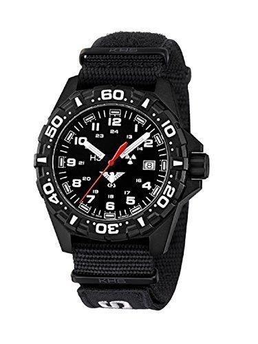 SET KHS Reaper KHS RE NXT7 Natoband XTAC Black NEU incl Watch Glass Protection