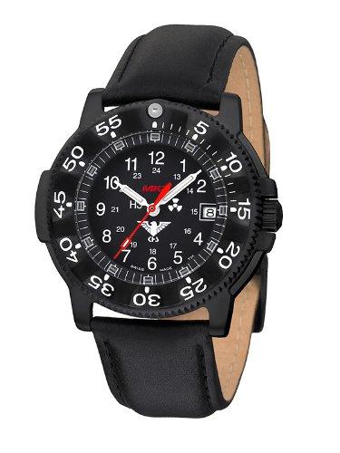 KHS Shadow Blue MK II H3 Einsatz Uhr mit Leder Armband