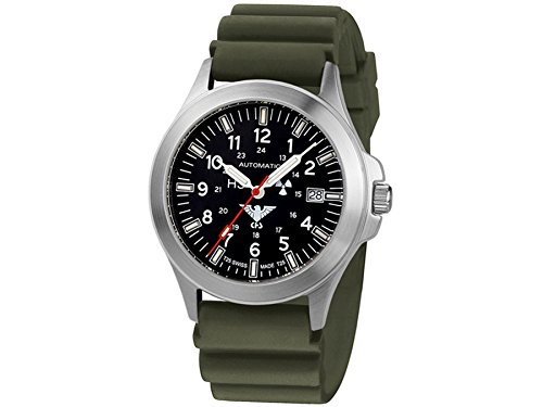 KHS Tactical Watches Platoon Automatic KHS PA DO Militaer Armbanduhr