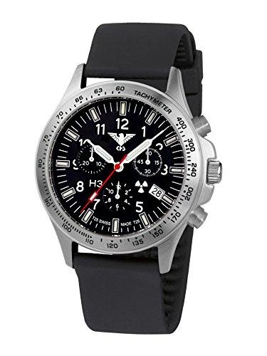 KHS Tactical Watches Platoon Chronograph KHS PC SB Militaer Armbanduhr